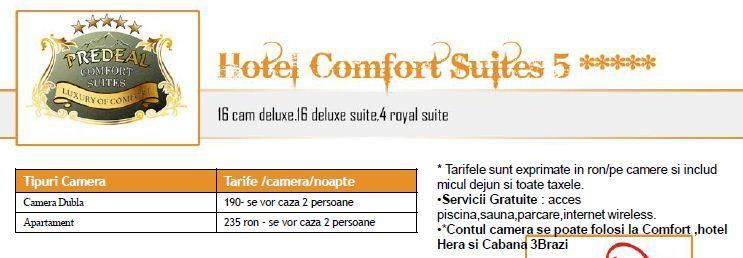 Cursuri organizate de EBC la Hotel Confort Suites