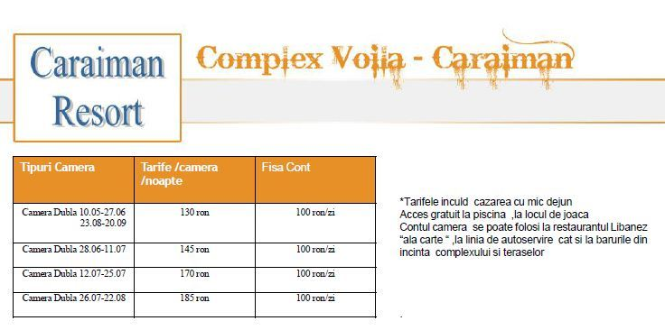 Cursuri organizate de EBC la Voila - Caraiman